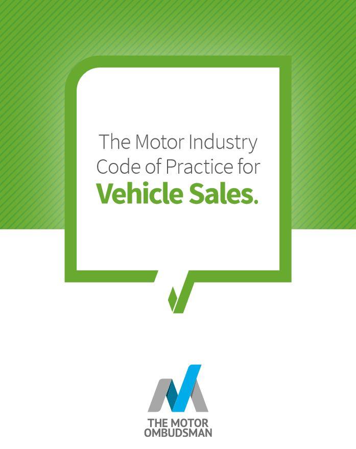 Vehicle Sales Code - The Motor Ombudsman