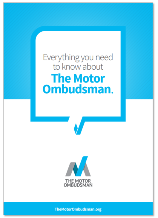 Make a complaint - Resolve your dispute - The Motor Ombudsman