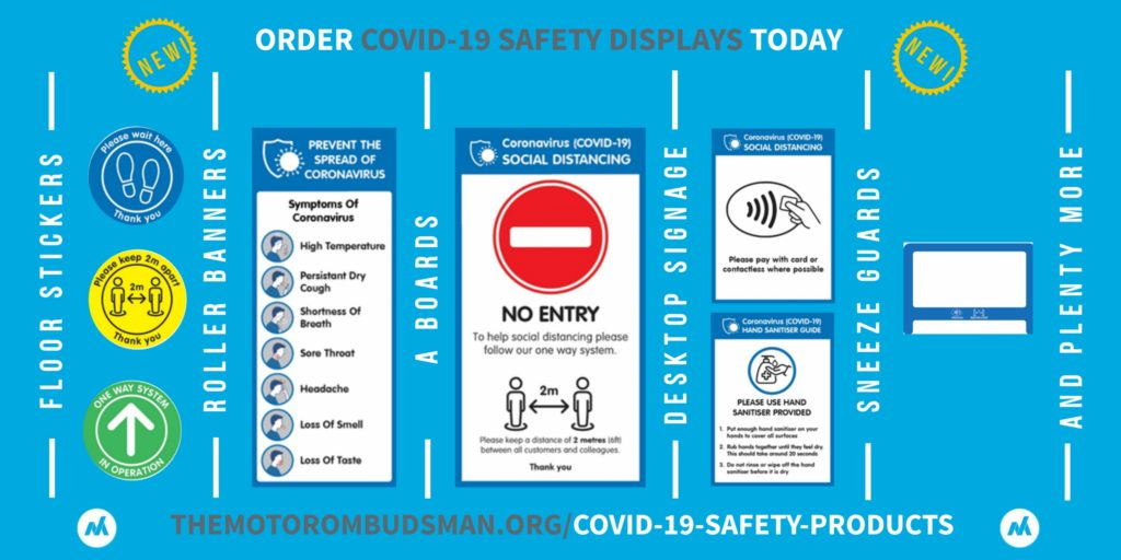 COVID-19 Safety products for garages